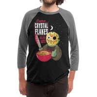 Camp Crystal Flakes - triblend-34-sleeve-raglan-tee - small view