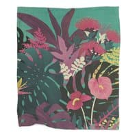 Tropical Tendencies - blanket - small view