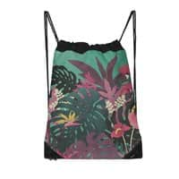 Tropical Tendencies - drawstring-bag - small view