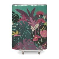 Tropical Tendencies - shower-curtain - small view