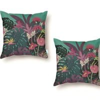 Tropical Tendencies - throw-pillow - small view