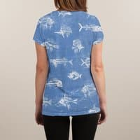 FISH - womens-sublimated-v-neck - small view