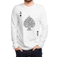 Poker Hand Values - mens-long-sleeve-tee - small view