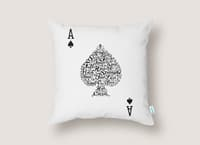 Poker Hand Values - throw-pillow - small view