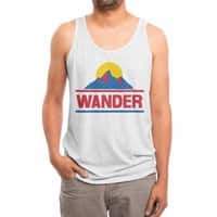 Wander - mens-triblend-tank - small view