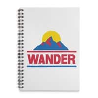Wander - spiral-notebook - small view