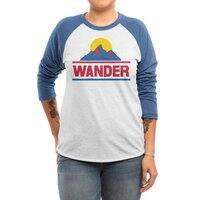 Wander - triblend-34-sleeve-raglan-tee - small view