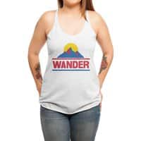 Wander - womens-triblend-racerback-tank - small view