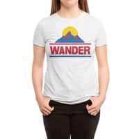 Wander - womens-triblend-tee - small view