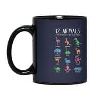 12 Animals (That Are Definitely Not An Octopus) - black-mug - small view