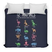 12 Animals (That Are Definitely Not An Octopus) - duvet-cover - small view