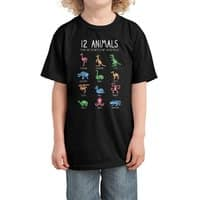 12 Animals (That Are Definitely Not An Octopus) - kids-tee - small view