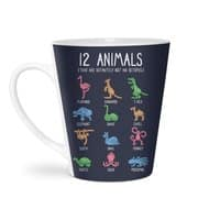 12 Animals (That Are Definitely Not An Octopus) - latte-mug - small view