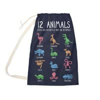 12 Animals (That Are Definitely Not An Octopus) - laundry-bag - small view