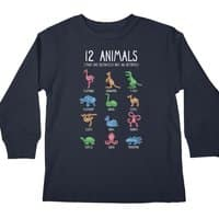 12 Animals (That Are Definitely Not An Octopus) - longsleeve - small view