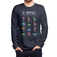 12 Animals (That Are Definitely Not An Octopus) - mens-long-sleeve-tee - small view