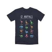 12 Animals (That Are Definitely Not An Octopus) - mens-premium-tee - small view