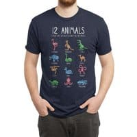 12 Animals (That Are Definitely Not An Octopus) - mens-triblend-tee - small view