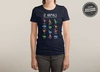 12 Animals (That Are Definitely Not An Octopus) - shirt - small view