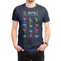 12 Animals (That Are Definitely Not An Octopus) - mens-regular-tee - small view