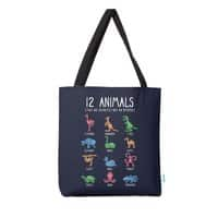 12 Animals (That Are Definitely Not An Octopus) - tote-bag - small view