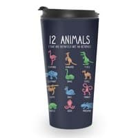 12 Animals (That Are Definitely Not An Octopus) - travel-mug - small view