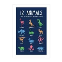 12 Animals (That Are Definitely Not An Octopus) - vertical-print - small view