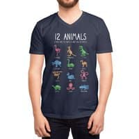 12 Animals (That Are Definitely Not An Octopus) - vneck - small view