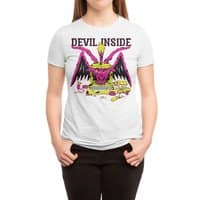 Devil Inside - womens-triblend-tee - small view