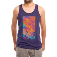 Sunset Wars - mens-triblend-tank - small view