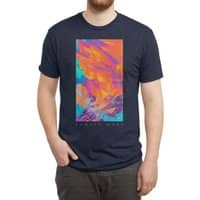 Sunset Wars - mens-triblend-tee - small view