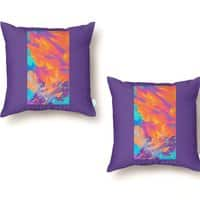 Sunset Wars - throw-pillow - small view