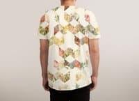 Keziah - Flowers - mens-sublimated-tee - small view