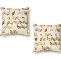 Keziah - Flowers - throw-pillow - small view