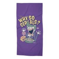 Why So Cereals? - beach-towel - small view