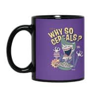 Why So Cereals? - black-mug - small view