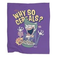Why So Cereals? - blanket - small view