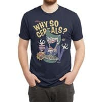 Why So Cereals? - mens-triblend-tee - small view