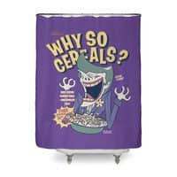 Why So Cereals? - shower-curtain - small view