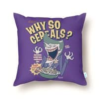 Why So Cereals? - throw-pillow - small view