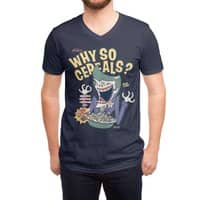 Why So Cereals? - vneck - small view
