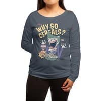 Why So Cereals? - womens-long-sleeve-terry-scoop - small view