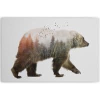Bear - horizontal-canvas - small view