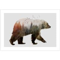 Bear - horizontal-print - small view