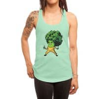 Brocco Lee - womens-racerback-tank - small view