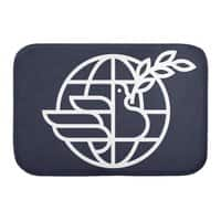 Peace in the World - bath-mat - small view