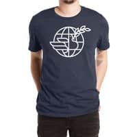 Peace in the World - mens-extra-soft-tee - small view