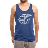 Peace in the World - mens-triblend-tank - small view