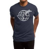 Peace in the World - mens-triblend-tee - small view