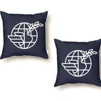 Peace in the World - throw-pillow - small view